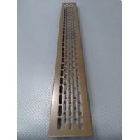 Алюмінієва решітка 480*60мм колір RAL8014